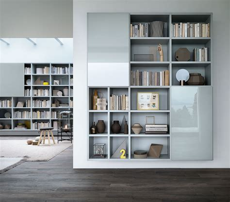 lema libreria tendenze metallo e vetro per gli armadi e le librerie