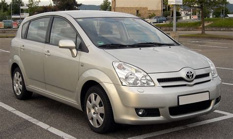 Toyota Carolla Verso 2009 Toyota Corolla Verso Pictures Information And