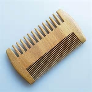 Handmade Beard Comb - wood comb wooden pocket beard comb handmade coarse wide