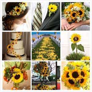 sunflower wedding decorations decoration