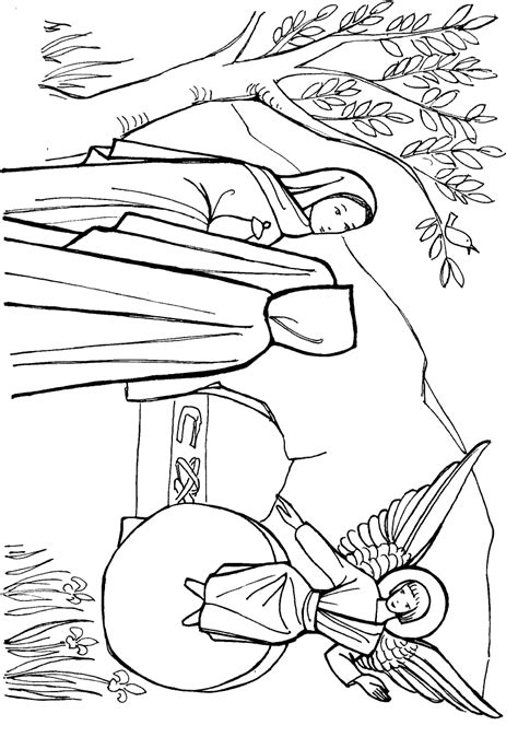 resurrection coloring pages jesus resurrection coloring pictures