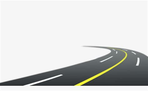 graphic design hill road free creative pull curved road highway road bending png