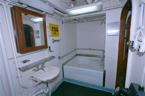 bb bathtub location photos of battleship uss iowa