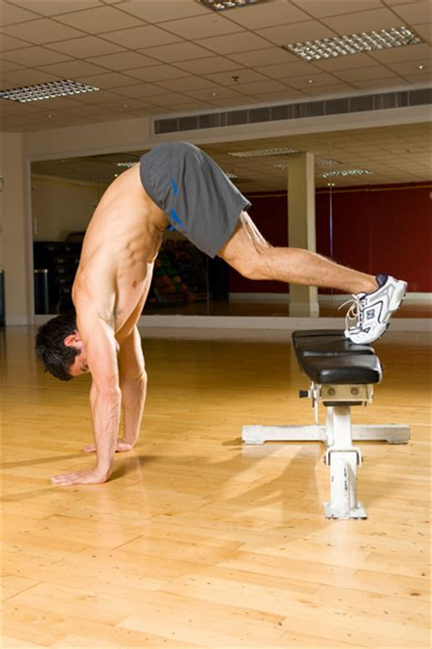 inverted bench press variation inverted shoulder press coach