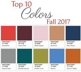 Top Colors 2017 Top 10 Colors Fall 2017 Grace Amp Beauty