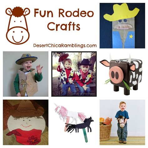 cowboy crafts rodeo crafts for
