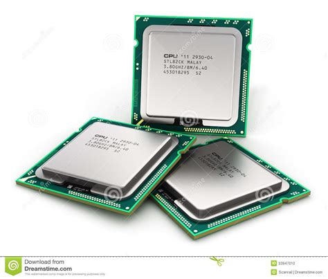 Processor Cpu Laptop modern cpu stock illustration image of laptop computer