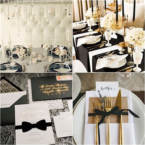 Wedding Favor Idea Black And White Formal Affair Favor Boxes by Black Tie Wedding Ideas That Dazzle Modwedding