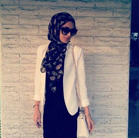 Blazer Muslimah White Blazer Muslimah Envy