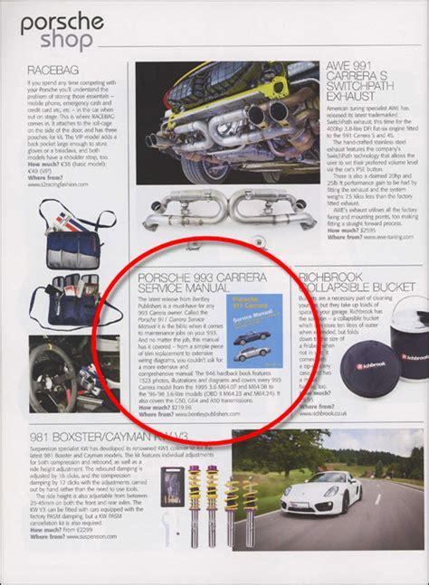 porsche 911 993 1995 1998 repair information bentley publishers repair manuals and reviews porsche 911 993 1995 1998 repair information bentley publishers repair