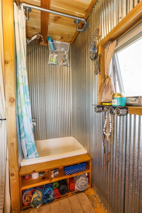 3 Bedroom Rv Floor Plan couple quits day jobs builds quaint tiny home on wheels