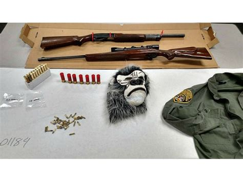 Search For On Probation Probation Search Yields Guns Gorilla Mask Watsonville Ca Patch