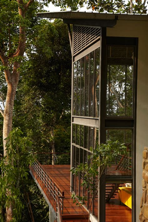 Deck Architecture by The Perfect Getaway Unique And Modern Tropical House With