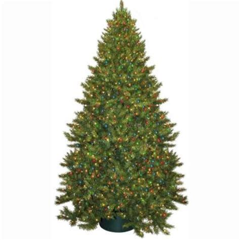 general foam 9 ft pre lit carolina fir artificial