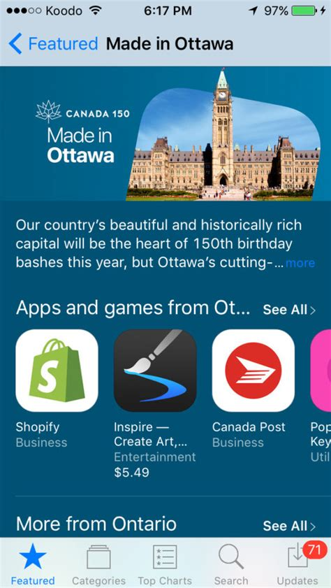 12 Of The Best Apps Made In Canada This Year Techvibes - apple launches made in ottawa section in the app store