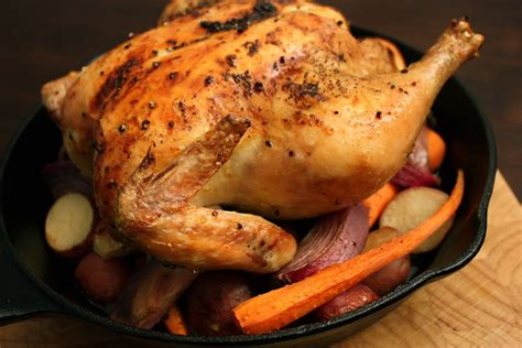 roasted whole chicken have her over for dinner whole roasted chicken with