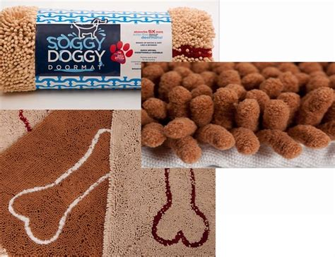 Paw Cleaner Mat by Soggy Doormat Absorbent Paw Cleaning Mat