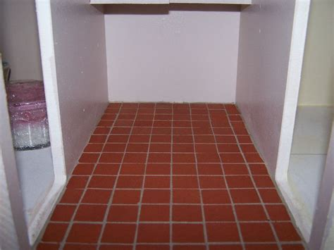 quarry tiles laid in kitchen my doll s house pinterest