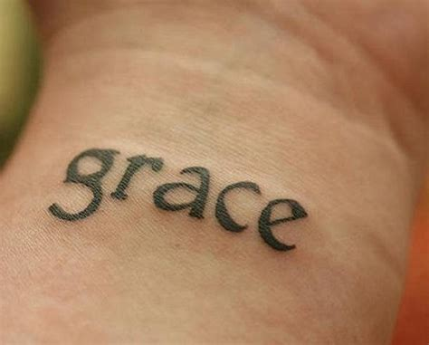 grace name tattoo designs grace