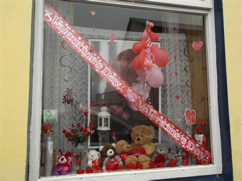 valentines day window celebrating st valentine s day 2013 in millstreet