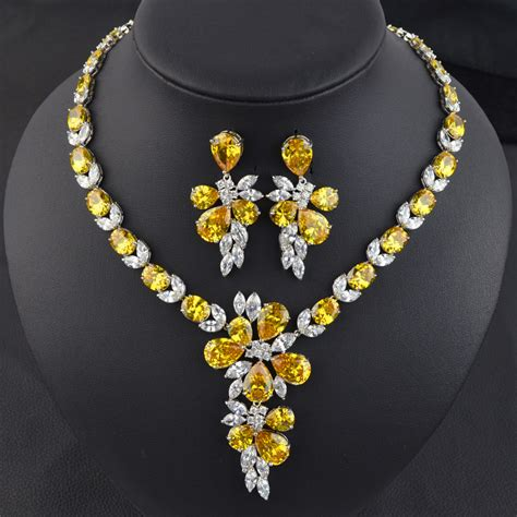 5 colors option high quality yellow golden aaa cubic
