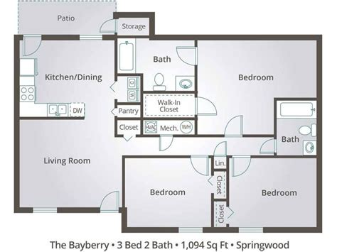 3 bedroom flat architectural plan beautiful architectural drawings plan of three bedroom