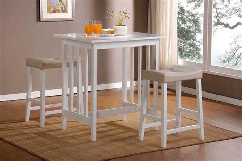 stool and dinette scottsdale homelegance scottsdale 3 pc dinette set in white finish