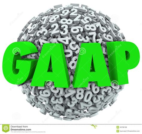 Letter Of Credit Gaap Gaap Acronym Letters Generally Accepted Accounting Principals Stock Illustration Image 46786186