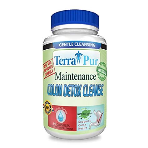 Detox Nauseated by Maintenance Colon Detox Cleanse By Terrapur Use This