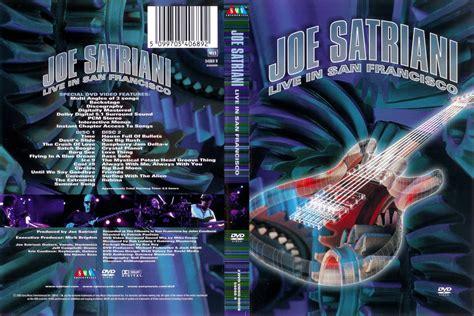 Joe Satriani Live In San Francisco jaquette dvd de joe satriani live in san francisco