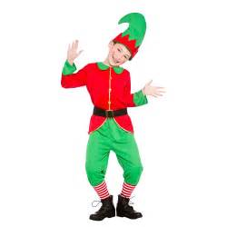 Kids elf costume boys girls christmas play santas helper fancy dress