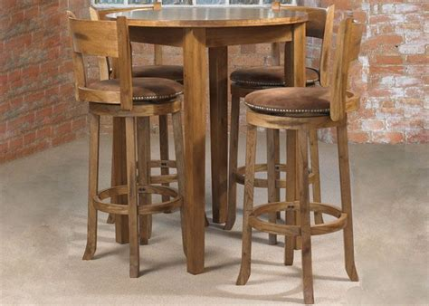 High Table And Stools For Kitchen Kitchen Dining Sets Webster Cordoba Pub Table 4 High Small Kitchen Islands