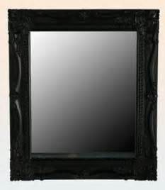 black framed bathroom mirrors black framed mirror ebay