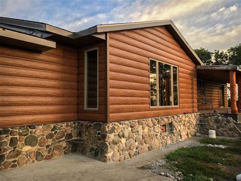 log cabin siding cedar cabin siding maintenance free log siding log