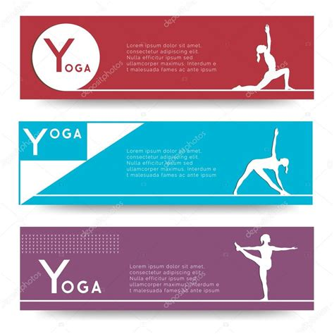 banner design for yoga banner design for yoga studio stock vector 169 gl sonts