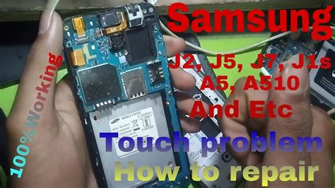 0 Samsung Not Working by Samsung J2 J5 J7 And Other Touch Not Working Problem Soultion