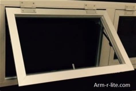 garage door windows that open arm r lite
