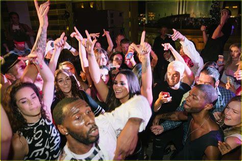 despacito house party 2018 full sized photo of demi lovato gets support nina dobrev