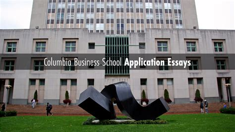Columbia Mba Gre Or Gmat by Gmat