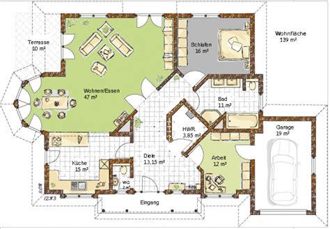 bungalow mit garage grundrisse grundriss bungalow mit garage haus entwurf ideen