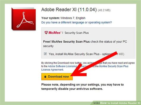 adobe reader x installation file how to install adobe reader xi 5 steps with pictures