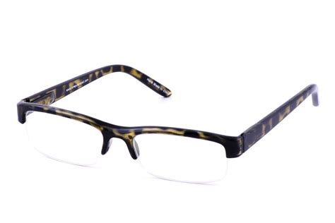 computer eyed tortoise half framed computer glasses with