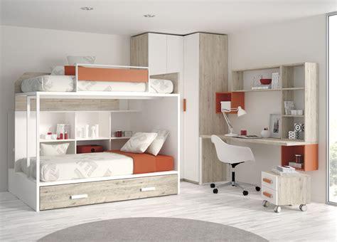 decorar habitacion cama nido literas con cama nido para habitaciones infantiles