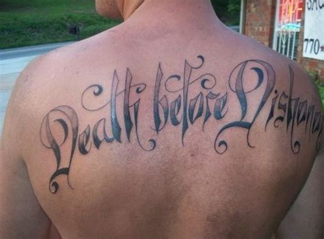 death before dishonor tattoo 15 before dishonor designs with meaning
