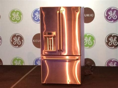 copper appliances 25 best copper kitchen refrigerators images on pinterest