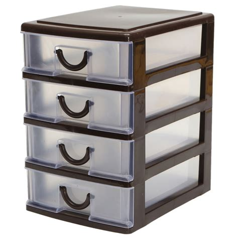 Tempat Kosmetik Type H Plastic Desktop Cosmetics Jewelry Organizer Holder