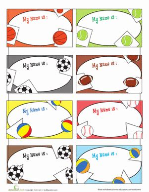english worksheet name tags for boys 1st grade back to school worksheets free printables