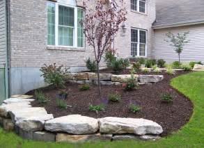 landscaping retaining walls boulder retaining walls landscaping st louis landscape
