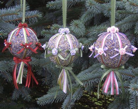lavender christmas ornament kit lavender green