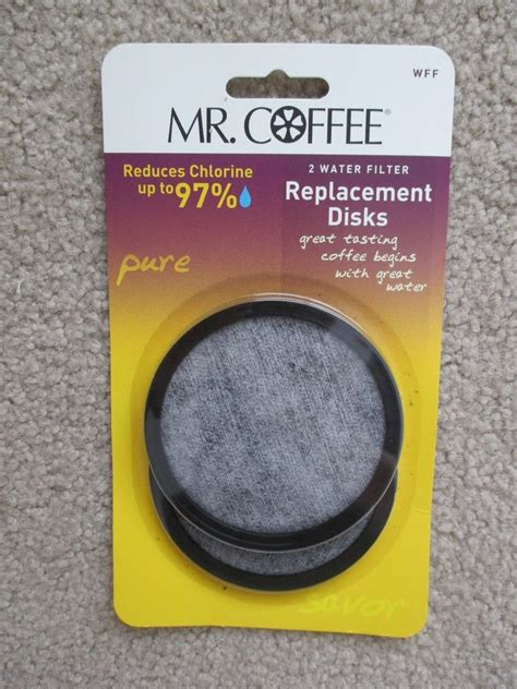 2 MR. COFFEE WATER FILTER REPLACEMENT DISKS MODEL WWF USA MADE FREE SHIPPING   eBay
